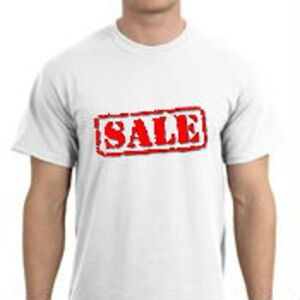 Gildan 2000 Ultra Cotton Mens T-Shirt White Only S to 5XL ON SALE! Thumbnail