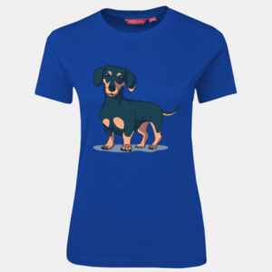 Dachshund Dog - JB's Wear - 1LHT - Fitted Tee  Thumbnail