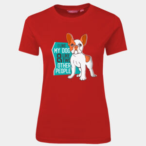 I love my dog - JB's Wear - 1LHT - Fitted Tee  Thumbnail