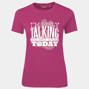 Talk to my dog - JB's Wear - 1LHT - Fitted Tee  Thumbnail