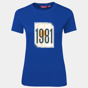 Retro 1981 - JB's Wear - 1LHT - Fitted Tee  Thumbnail