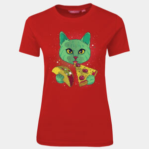 Cosmic Cat - JB's Wear - 1LHT - Fitted Tee  Thumbnail