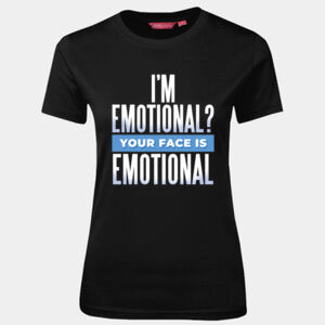I'm Emotional - JB's Wear - 1LHT - Fitted Tee  Thumbnail